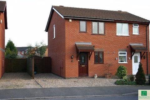 2 bedroom semi-detached house to rent - Kinross Way, Hinckley, Leics LE10 0WF