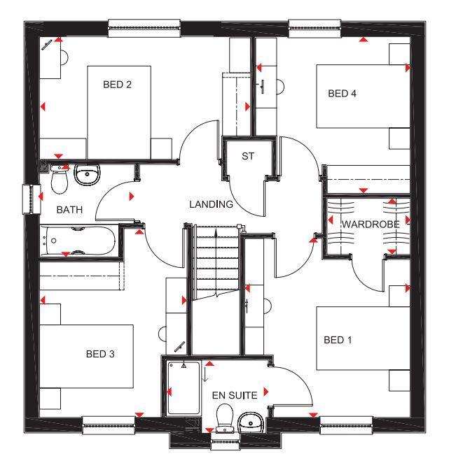 Floorplan: The Corgarff