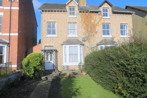 4 bedroom semi-detached house for sale - Arosfa, 15 Victoria Terrace, Salop Road, Welshpool, Powys, SY21 7EG