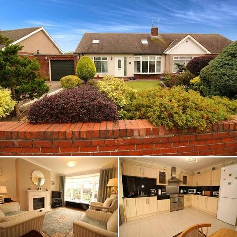 4 bedroom semi-detached bungalow for sale - Millview Drive, Tynemouth