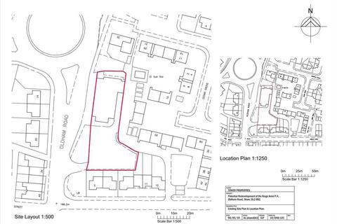 Land for sale - Former Big Lamp Site, Oldham Road, Oldham