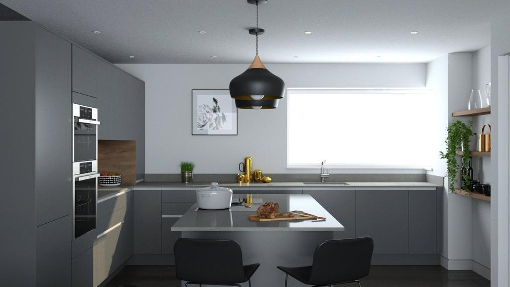 Island Style Kitchen