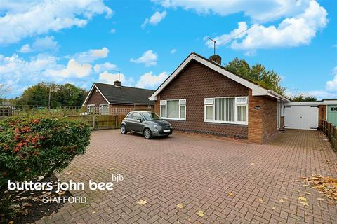 3 bedroom bungalow for sale - Station Road, Gnosall