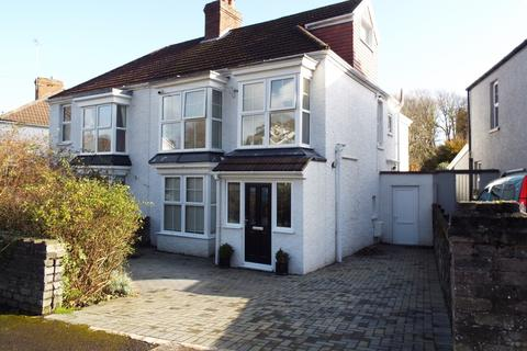 4 bedroom semi-detached house for sale - 2 Glenville Road, Mumbles, Swansea, SA3 5TE