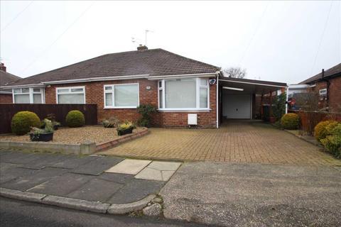 2 bedroom bungalow to rent - Birchwood Avenue, Wideopen, North Gosforth