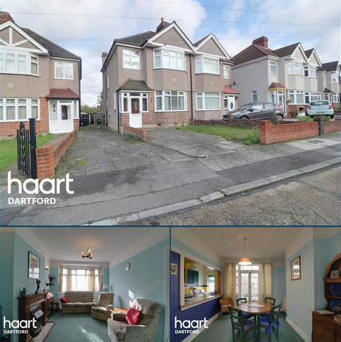 3 bedroom semi-detached house for sale - West Hill Drive, Dartford, DA1 3EA