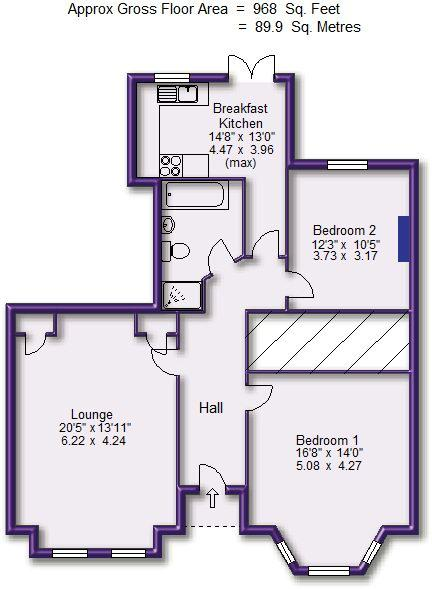 Floorplan: Ground