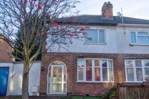 4 bedroom semi-detached house to rent - Gainsborough Road, Leicester, LE2