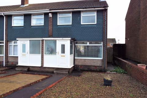 3 bedroom end of terrace house for sale - Regency Gardens, North Shields
