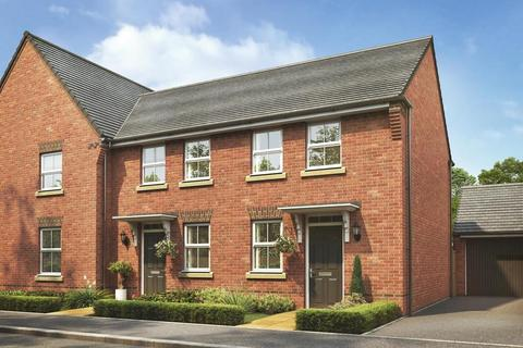 2 bedroom terraced house for sale - Plot 338, Wilford at DWH at St Rumbold's Fields, Tingewick Road, Buckingham, BUCKINGHAM MK18