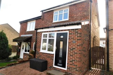 2 bedroom semi-detached house for sale - ROTHBURY CLOSE, TRIMDON GRANGE, SEDGEFIELD DISTRICT