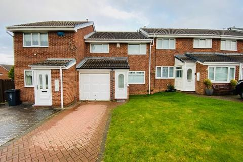3 bedroom terraced house for sale - MIDDLEWOOD CLOSE, CLAVERING, HARTLEPOOL