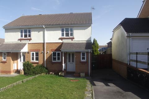 2 bedroom semi-detached house to rent - Maes y Wennol, Miskin, Pontyclun, CF72 8SB