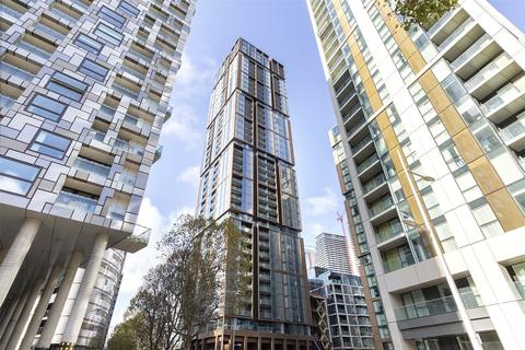 1 bedroom apartment for sale - Maine Tower, Harbour Central, Canary Wharf, London, E14
