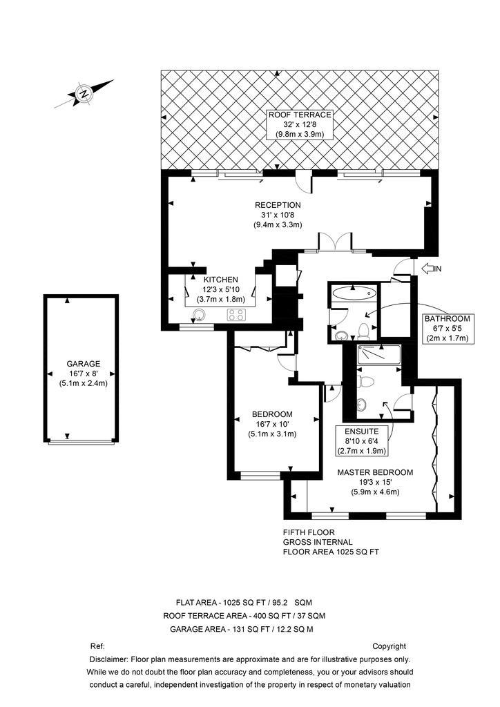 Floorplan: 25 Craven Lodge FP