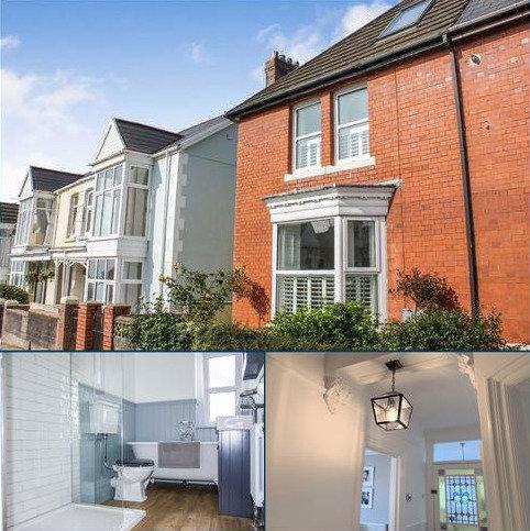 4 bedroom semi-detached house for sale - Sketty Avenue, Swansea, SA2