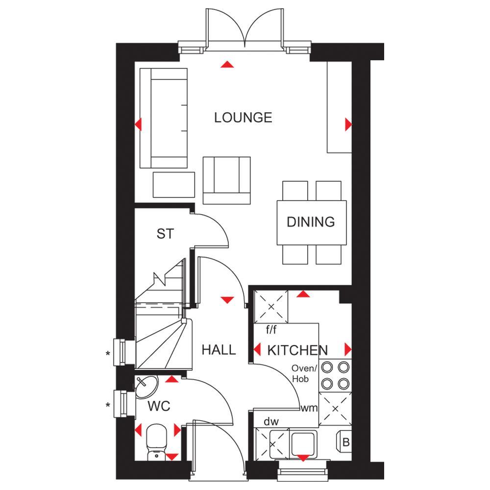 Floorplan 1 of 2: Wf gf