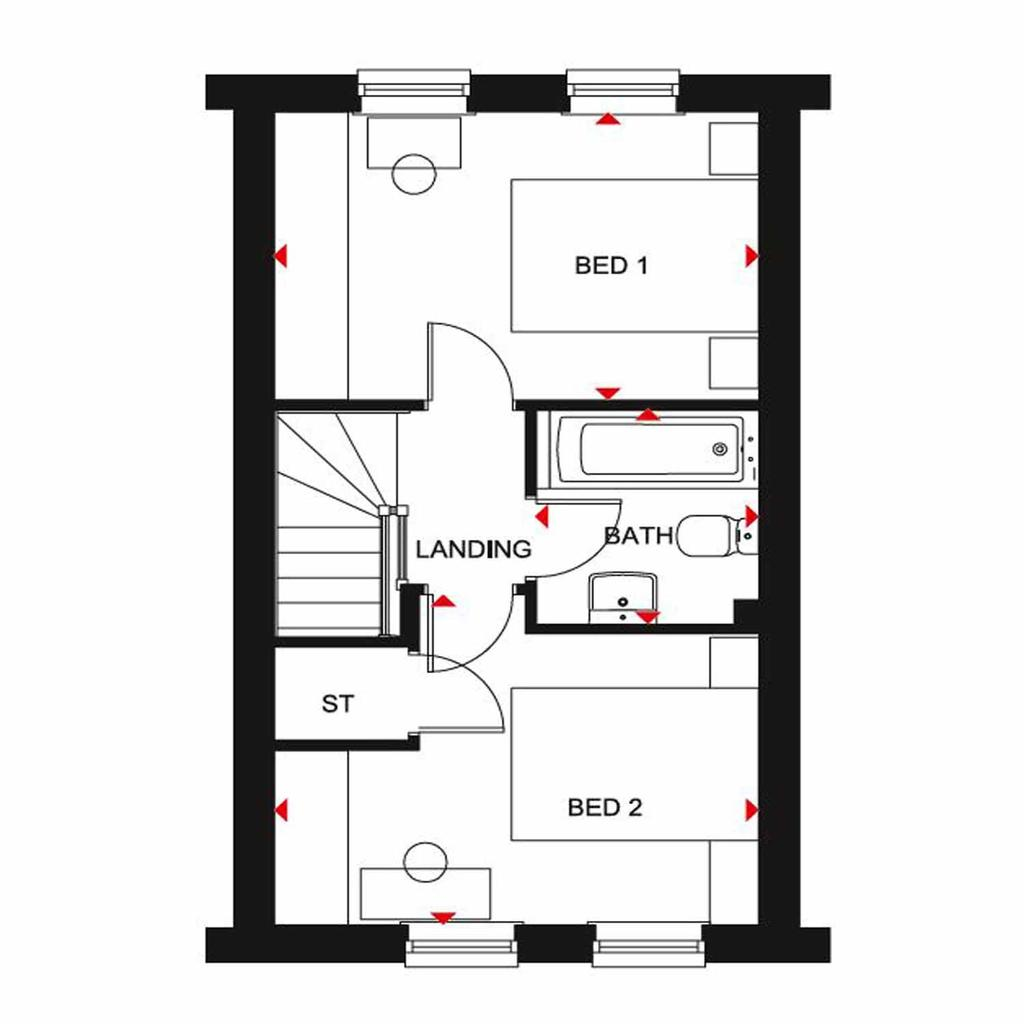 Floorplan 2 of 2: Wilford FF