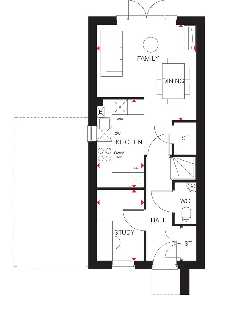 Floorplan 1 of 3: The Bay ground floor