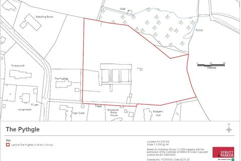 Plot for sale - Lower Broad Oak Road, West Hill, Devon
