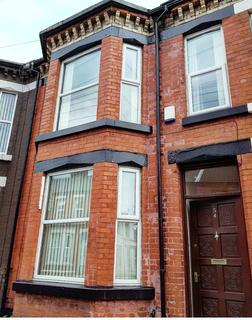 4 bedroom terraced house to rent - Thornycroft Road, Wavertree