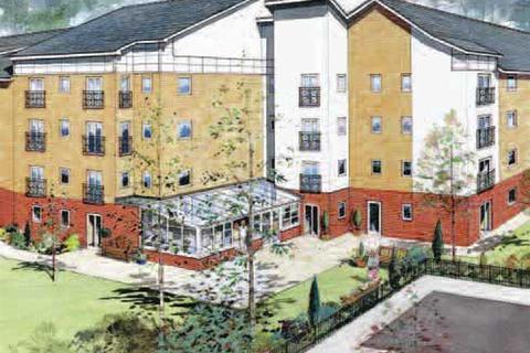 1 bedroom flat for sale - Plot 30, Type B at St James Court, Sanderson Villas NE8