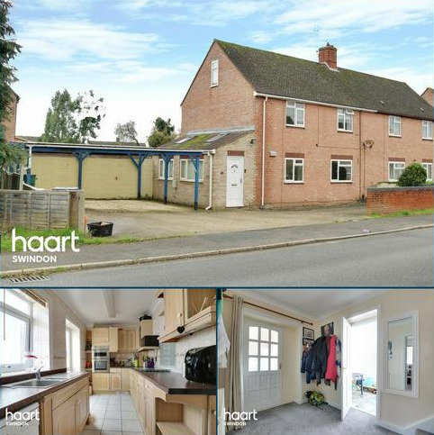 3 bedroom semi-detached house for sale - Cheddar Road, Swindon