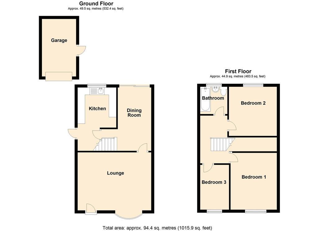 Floorplan: 42 Vicarage Road, Yardley, Birmingham.JPG