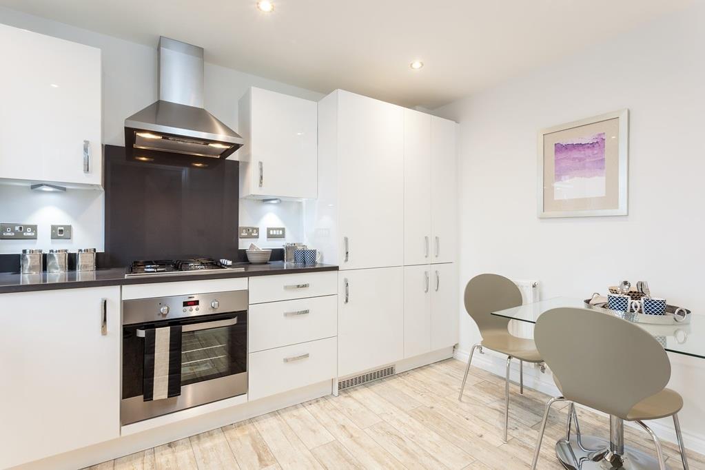 Typical Folkestone kitchen and breakfast area