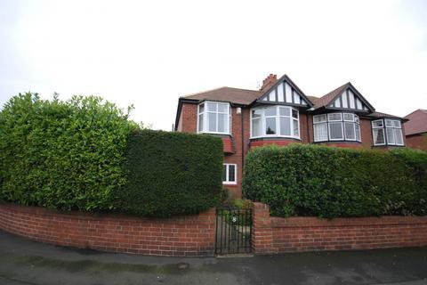 3 bedroom semi-detached house for sale - Polwarth Crescent, Gosforth