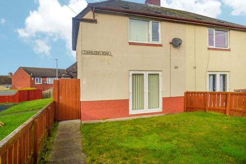 2 bedroom semi-detached house to rent - Evansleigh Road, Consett, Durham, DH8 8AQ