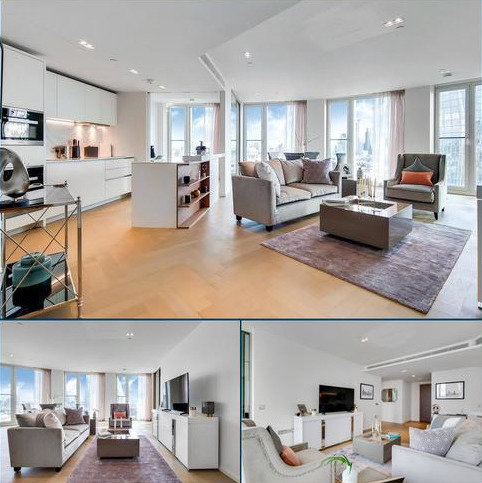 2 bedroom flat to rent - Southbank Tower, 55 Upper Ground, London, SE1