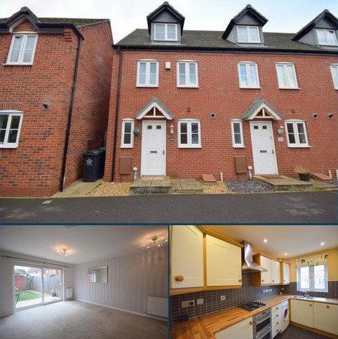3 bedroom end of terrace house to rent - Mersey Way, Hilton, DE65 5LT