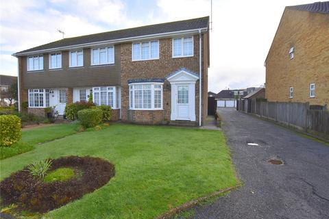 3 bedroom end of terrace house for sale - The Grovelands, Lancing, West Sussex, BN15