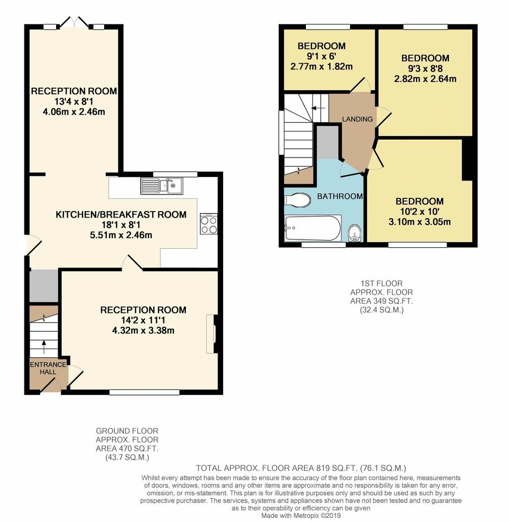 Floorplan: 22 Albert Road
