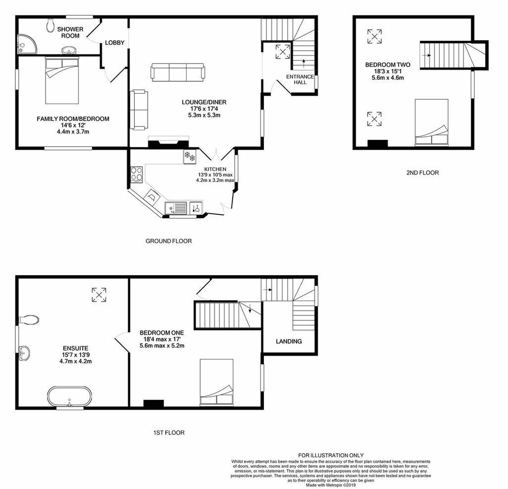 Floorplan: Hideaway Cottage South Cerney print.JPG