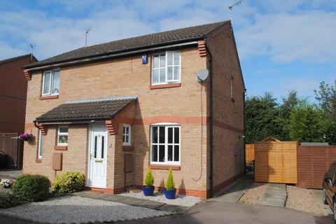 2 bedroom semi-detached house to rent - Weaver Close, Loughborough