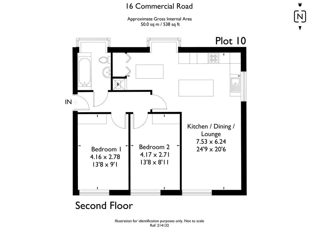 Floorplan 1 of 2: 16 Commercial Road 214132 fp  Plot 10.jpg