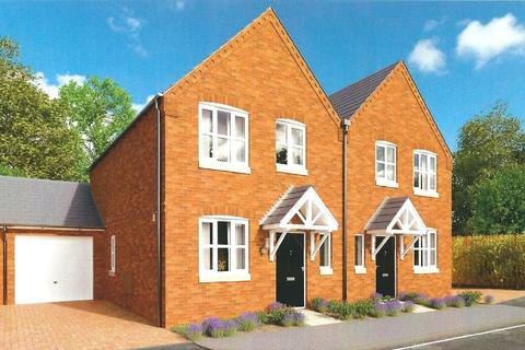 3 bedroom semi-detached house for sale - Wyndham Grange, Melton Mowbray, Leicestershire