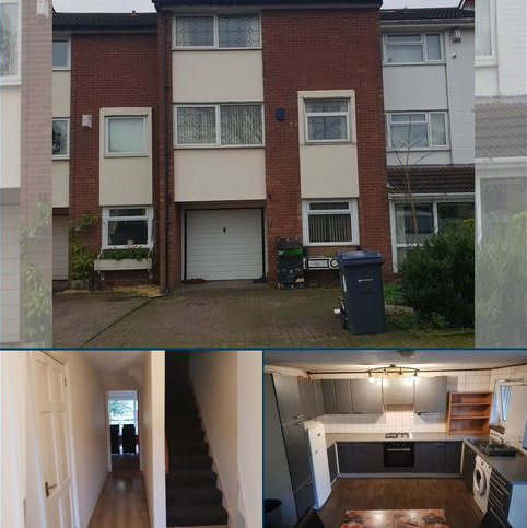 4 bedroom townhouse to rent - St Annes Close, Handsworth Wood, Birmingham, B20 1BS