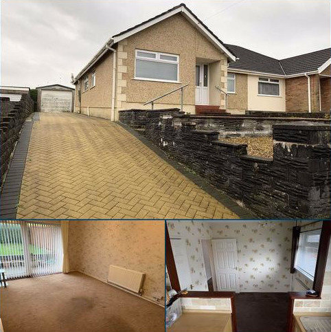 2 bedroom semi-detached bungalow for sale - Lan Coed, Winch Wen, Swansea