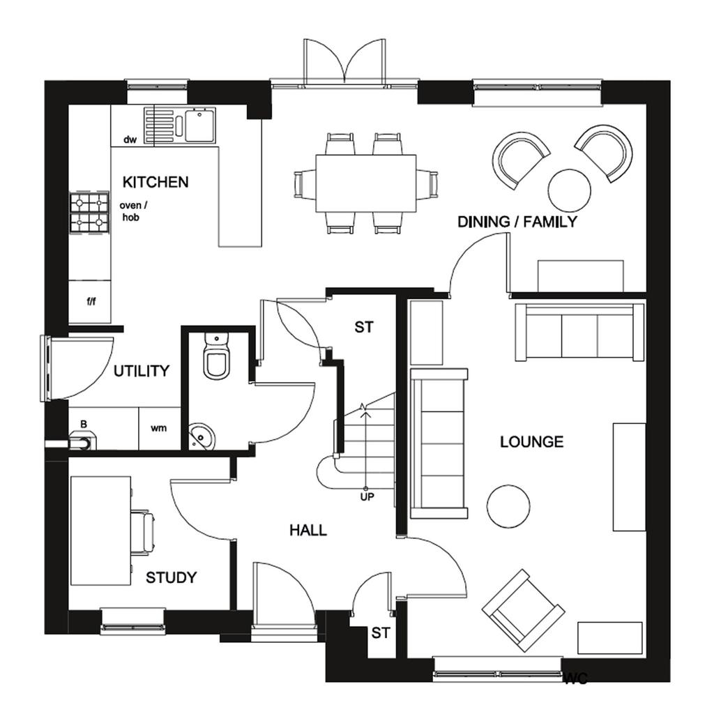 Floorplan 1 of 2: Radleigh Ground Floor