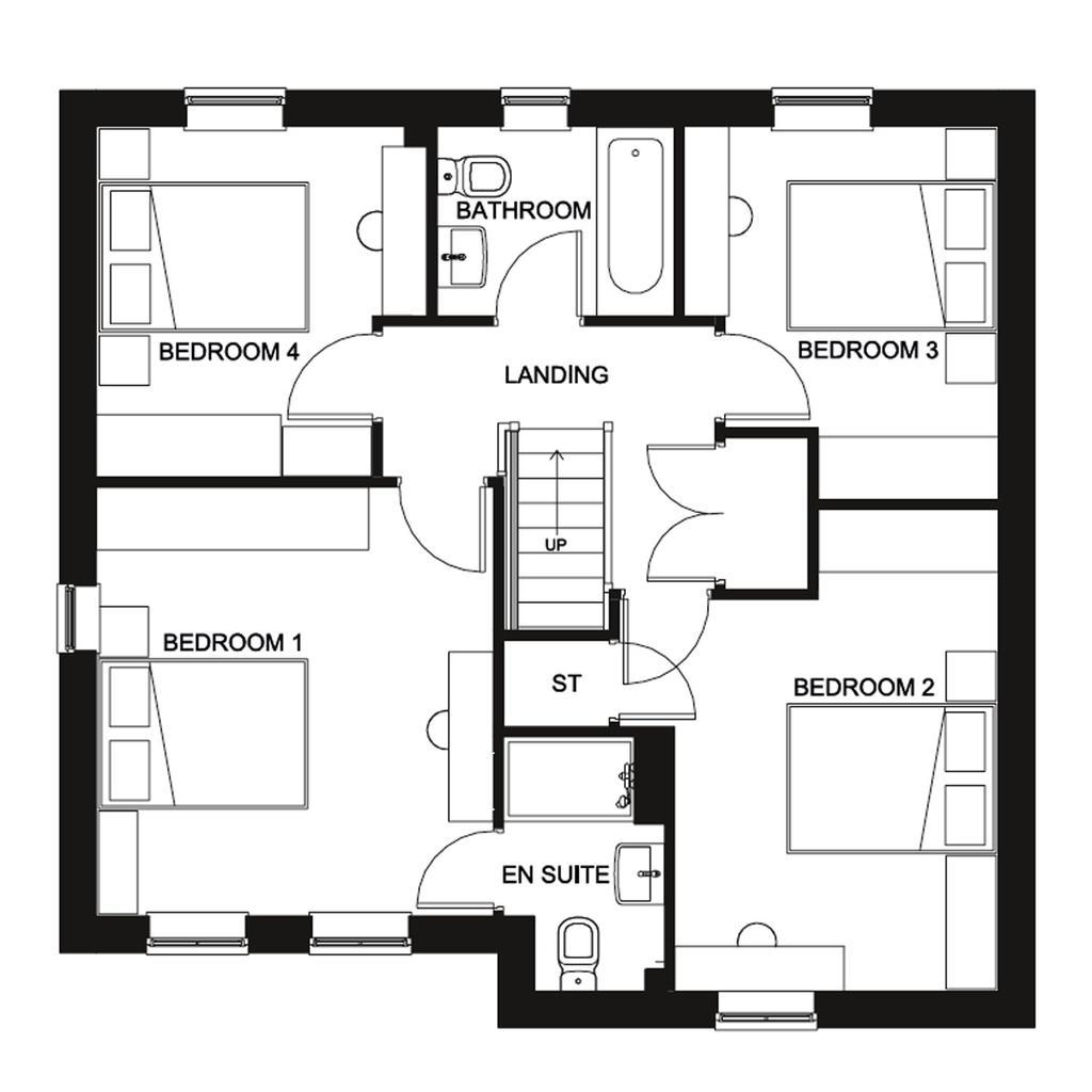 Floorplan 2 of 2: Radleigh First Floor