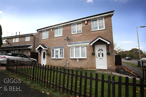 2 bedroom semi-detached house for sale - Rochford Drive, Luton, Bedfordshire, LU2