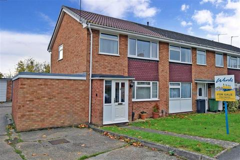 3 bedroom end of terrace house for sale - Northfleet Close, Maidstone, Kent