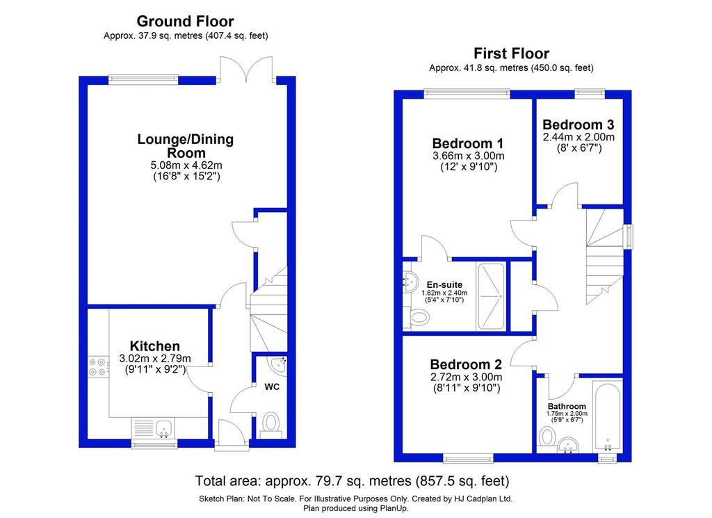 Floorplan: 15 Leach Grove, Darlington.JPG