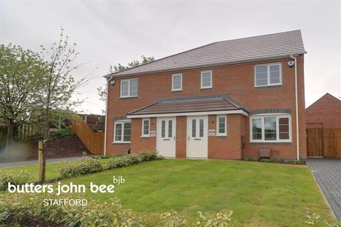 3 bedroom semi-detached house for sale - Wootton Drive, Creswell Court, Stafford