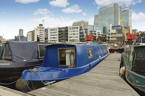 1 bedroom houseboat for sale - Poplar Dock Marina, Docklands E14