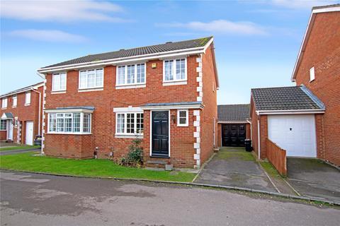 3 bedroom semi-detached house for sale - Baron Close, Stratone  Village, Swindon, Wilts, SN3