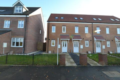 3 bedroom end of terrace house to rent - Wingate Way, Ashington